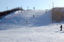 Горнолыжный подъемник для сноубордистов