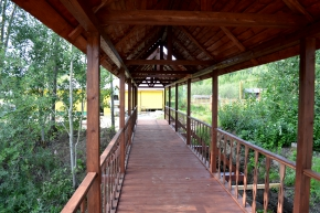 Мост к гостинице 2